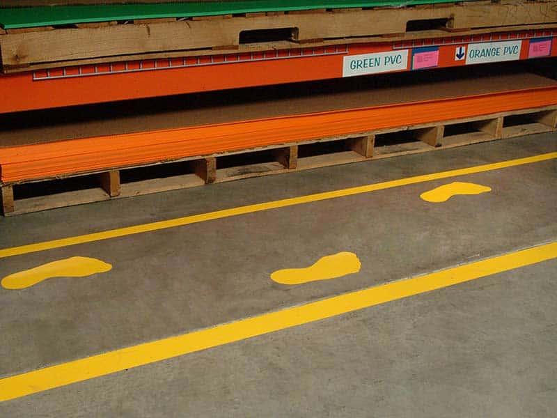 Floor Marking Borders & Symbols