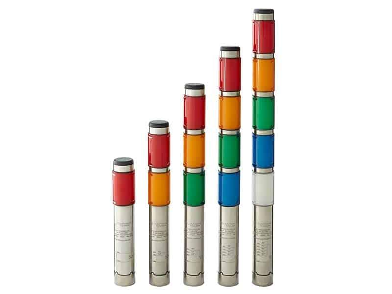 "1/5"" Diameter Compact Series LED Andon Lights"