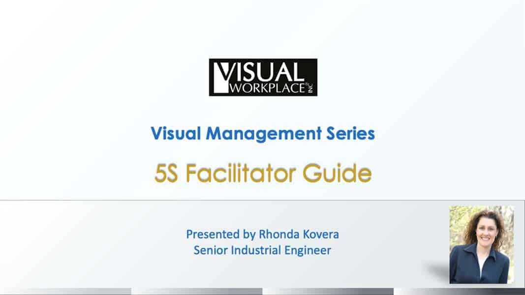 Webinar - 5S Facilitator Guide