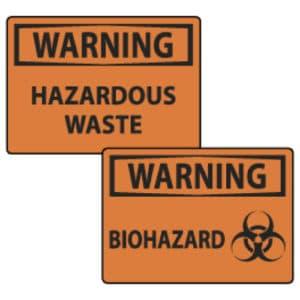 Hazmat Signs