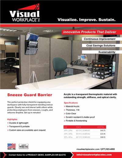 Sneeze Guard Barrier