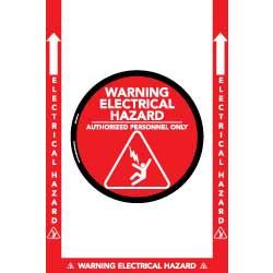 Warning Electrical Hazard Floor Kit