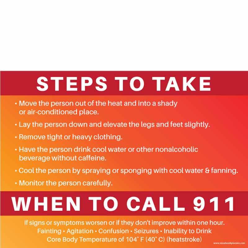 Heat Steps to Take to Call 911