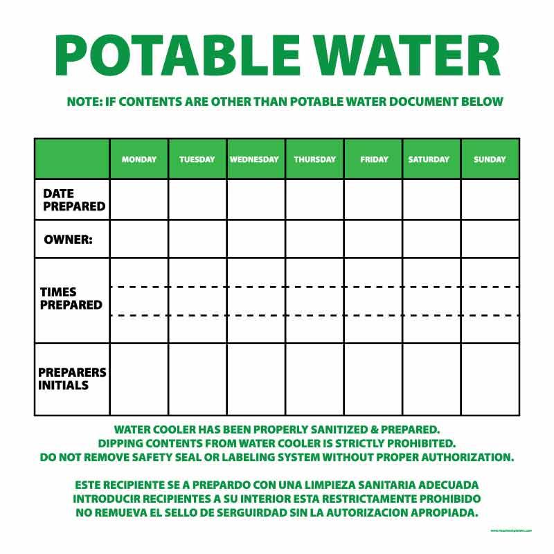 Potable Water Overlay