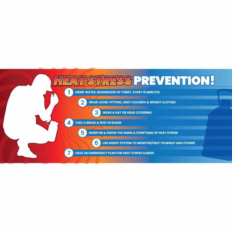 Heat Stress Prevention Banner