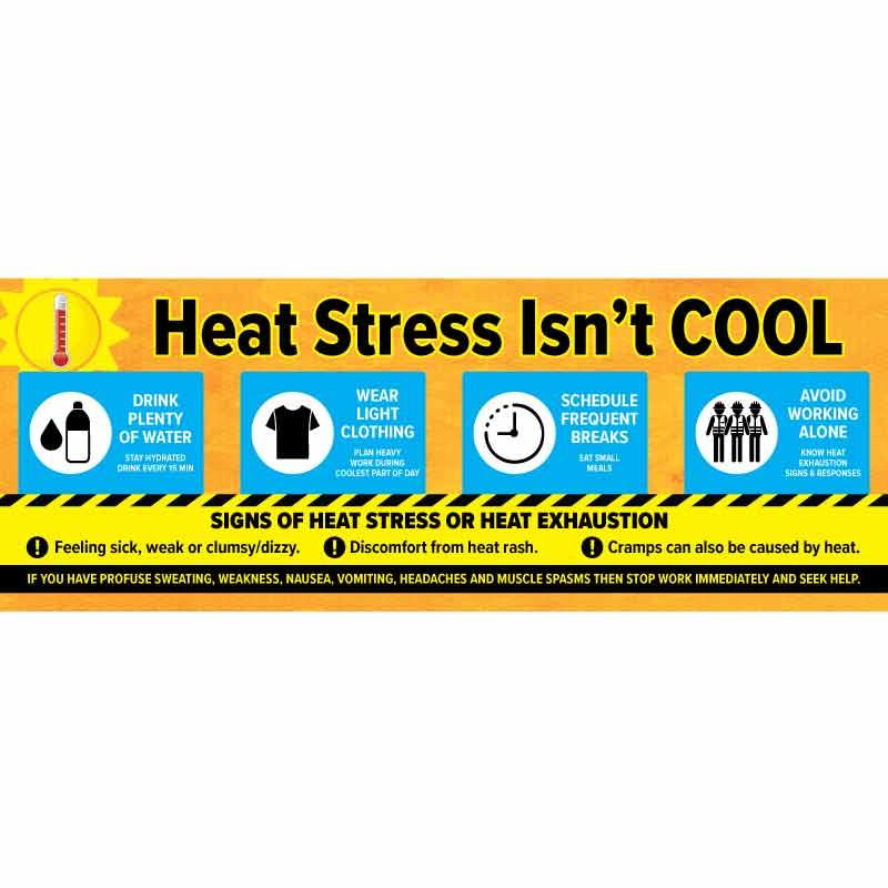 Heat Stress Isn't Cool Banner