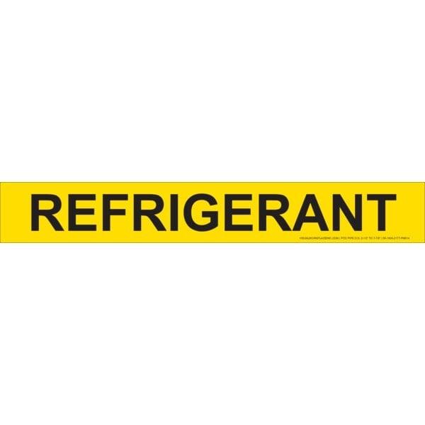 Refrigerant Stick-On