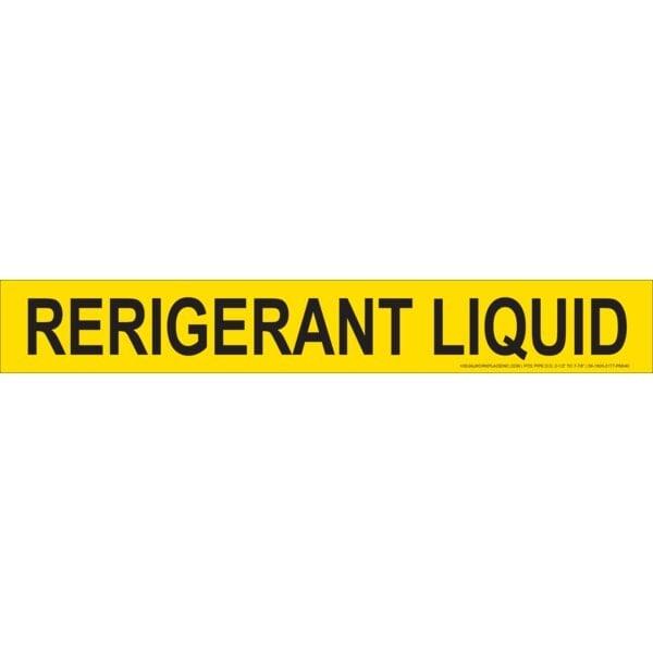Refrigerant Liquid Stick-On