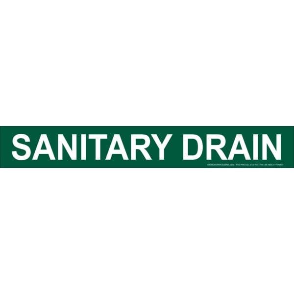 Sanitary Drain Stick-On